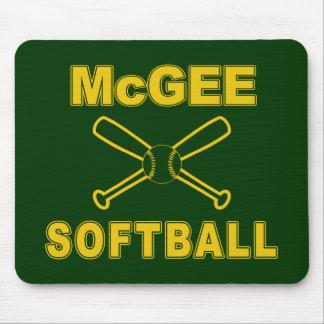 McGee Softball Mousepads