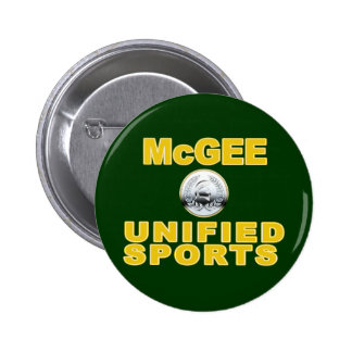 McGee Unified Sports 6 Cm Round Badge