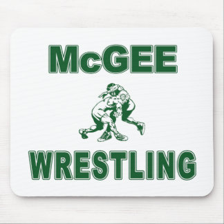 McGee Wrestling Mouse Pad
