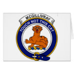 McGillivray Name on Badge Cards