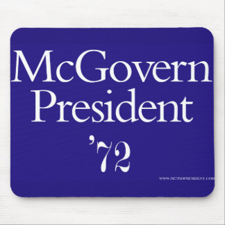 Mcgovern-1972 - Customized Mouse Pad