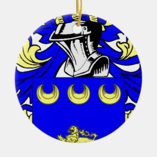 McGovern Coat of Arms Round Ceramic Decoration