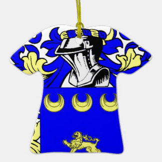 McGovern Coat of Arms Christmas Tree Ornament