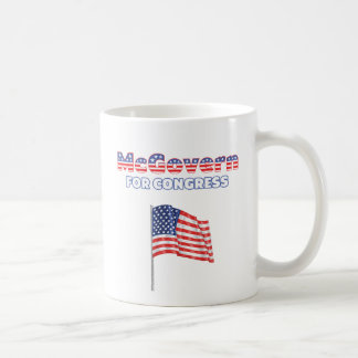 McGovern for Congress Patriotic American Flag Mugs