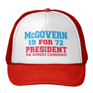 McGovern Gonzo Candidate Hat
