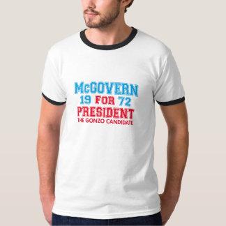 McGovern Gonzo Candidate Shirt