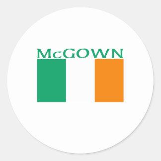McGown Round Stickers