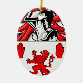 McGuckin Coat of Arms Ornament