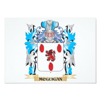 Mcguigan Coat of Arms - Family Crest Card