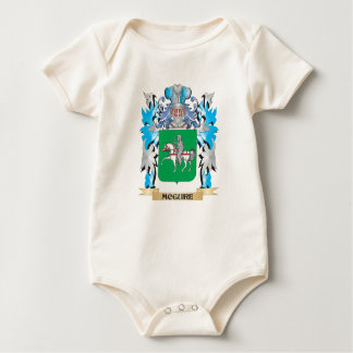 Mcguire Coat of Arms - Family Crest Baby Bodysuit