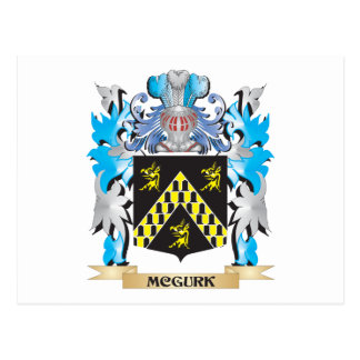 Mcgurk Coat of Arms - Family Crest Post Card