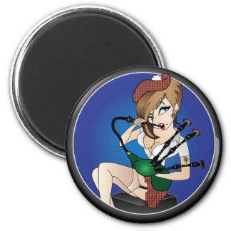 McHottie 6 Cm Round Magnet