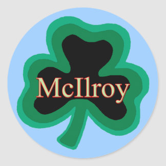 McIlroy Family Stickers