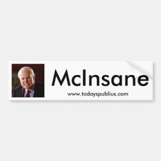 McInsane - John McCain Bumper Sticker