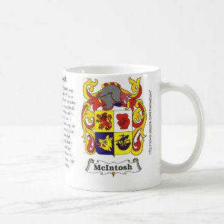 McIntosh, the origin, meaning and the crest Mugs