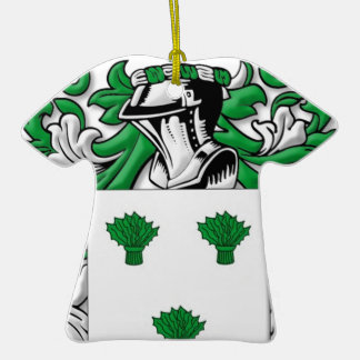 McIrvin Coat of Arms Ornament