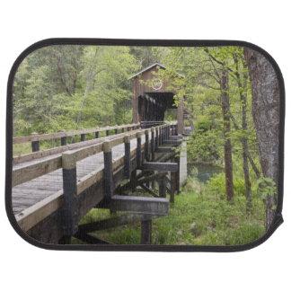 McKee covered bridge, Jacksonville, Oregon Car Mat
