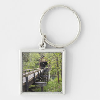McKee covered bridge, Jacksonville, Oregon Key Ring