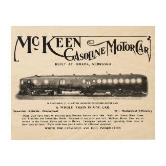 McKeen Gasoline Motor Cars 1911 Wood Print