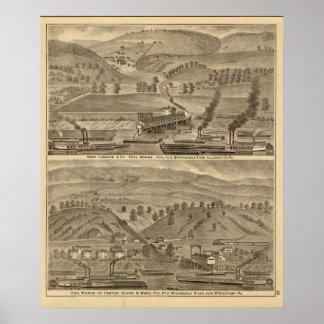 McKeesport Allegheny County, Pennsylvania Posters