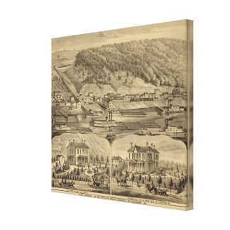 McKeesport Pennsylvania Canvas Print