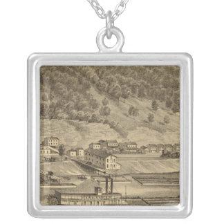 McKeesport Pennsylvania Silver Plated Necklace