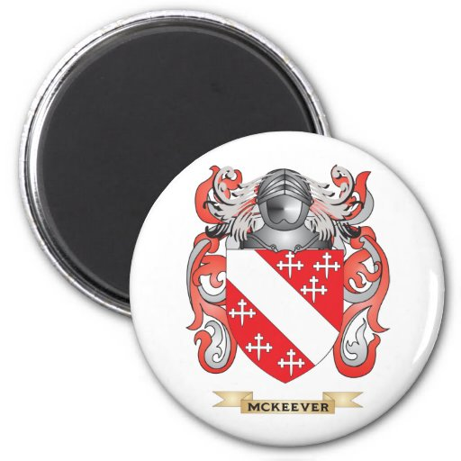 McKeever Coat of Arms (Family Crest) Magnets