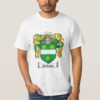 Mckenna Family Crest - Mckenna Coat of Arms T-Shirt