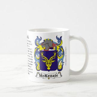 McKenzie Family Coat of Arms Mug