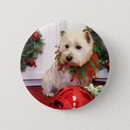 McKenzie - Westie - Kilmer 6 Cm Round Badge