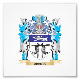 Mckie Coat of Arms - Family Crest Photo Print