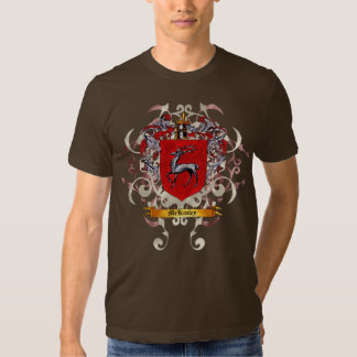 Mckinley Coat of arms (Ornate version) T-shirts
