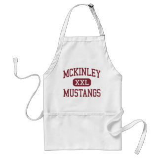 McKinley - Mustangs - Middle - Baton Rouge Apron