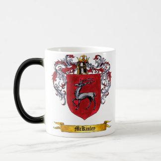McKinley Shield of Arms 11 Oz Magic Heat Color-Changing Coffee Mug