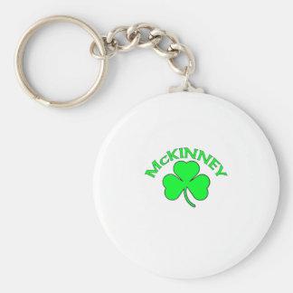 McKinney Basic Round Button Key Ring