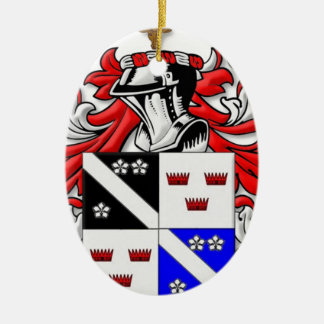 McKinney Coat of Arms Christmas Ornaments