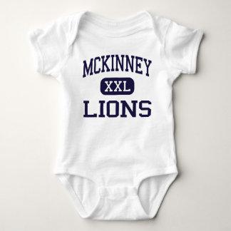 McKinney - Lions - High School - McKinney Texas Baby Bodysuit