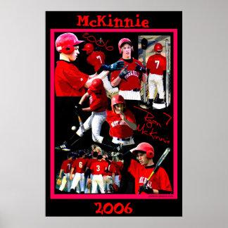 McKinnie Freshman Baseball Poster