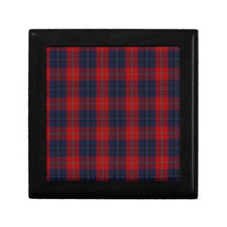 McKnight Clan Tartan Small Square Gift Box