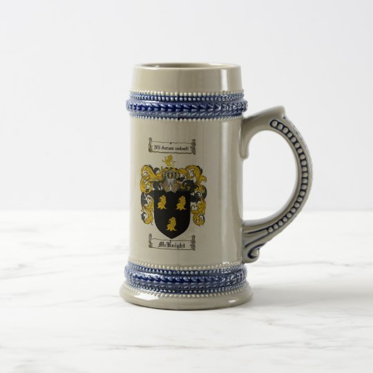 McKnight Coat of Arms Stein