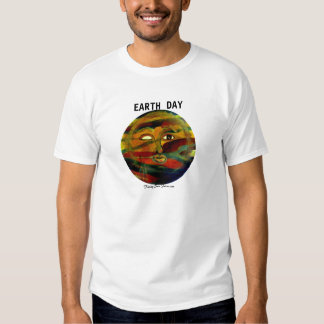 MClairArt's Funny Sun Faces Earth Day T-Shirts
