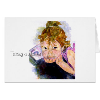 MClairArt's Moments N Art Gifts Note Card