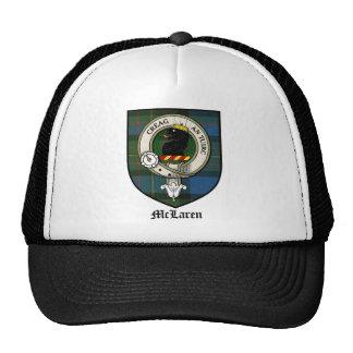 McLaren Clan Crest Badge Tartan Trucker Hat