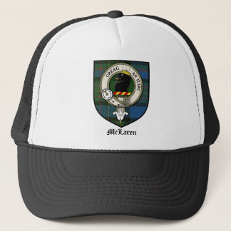 McLaren Clan Crest Badge Tartan Trucker Hat