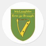 McLaughlin 1798 Flag Shield Stickers
