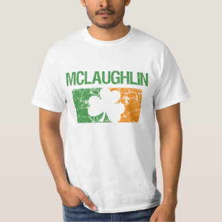 Mclaughlin Surname Clover T-Shirt