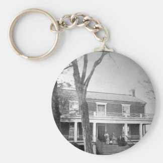McLean's House, Appomattox Court-House.  Virginia, Basic Round Button Key Ring