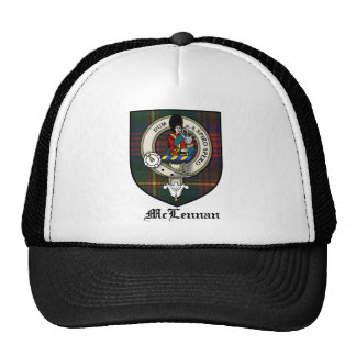 McLennan Clan Crest Badge Tartan Trucker Hat