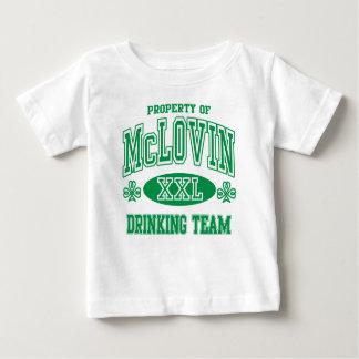 McLovin Irish Drinking Team Tshirts