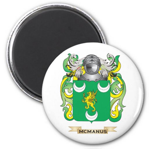 McManus Coat of Arms (Family Crest) Magnet